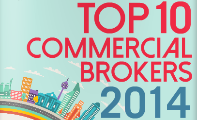 Brennan Wood awarded on CMP Top 10 Commercial Brokers list for 2014